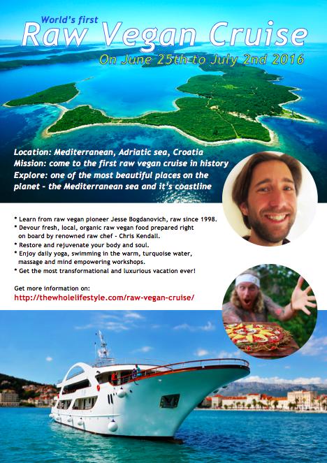 Raw Vegan Cruise in Croatia