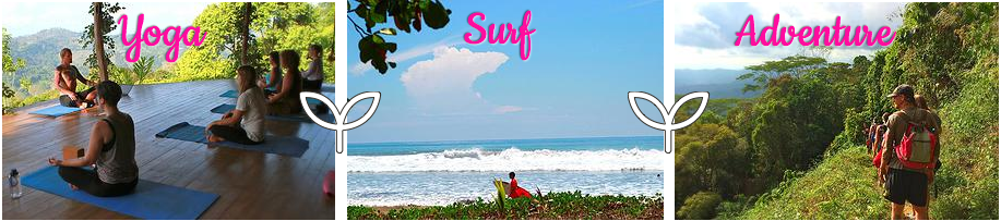 surf raw food yoga retreat costa rica