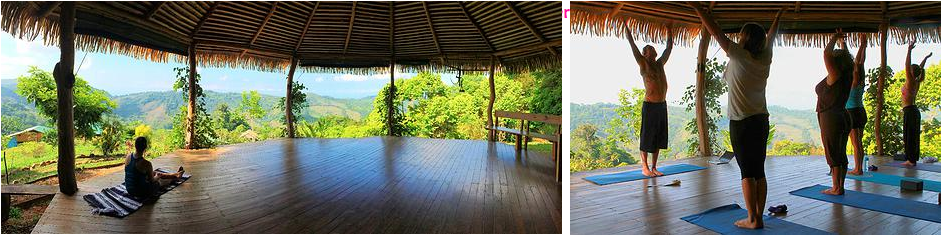 Costa Rica Yoga retreat Hut