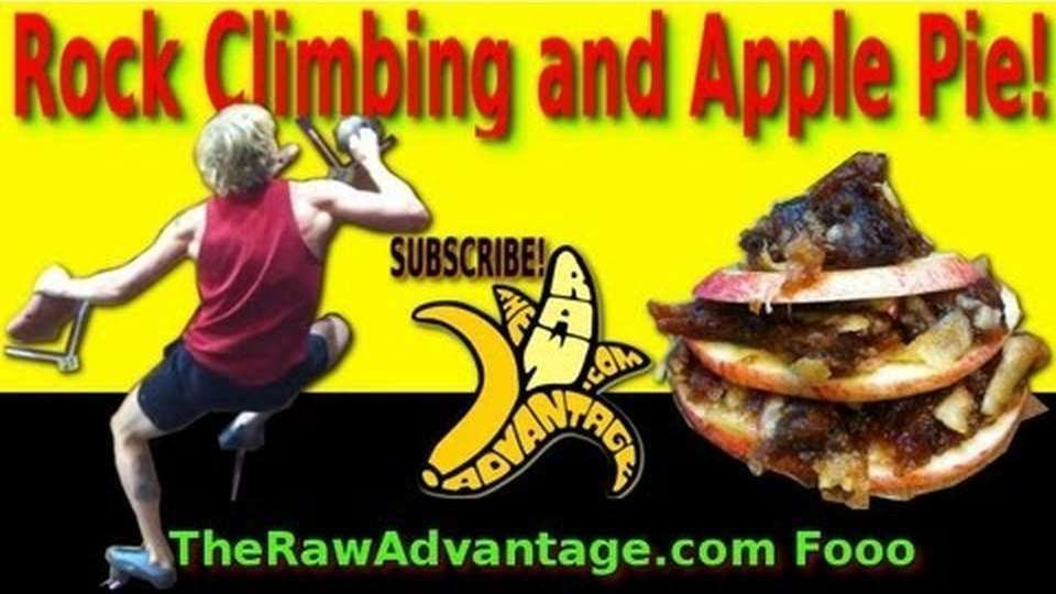 Wall Climbing and an Apple Pie Recipe!