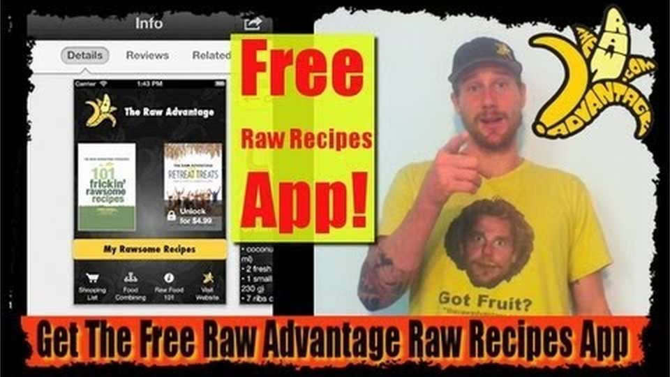 The Raw Advantage Iphone App is Here!!!
