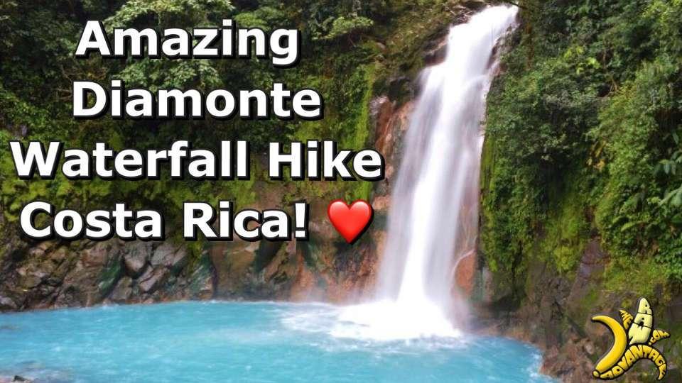The Most Amazing Waterfall Hike Diamonte Costa Rica!