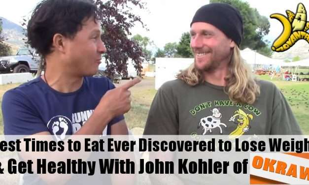 Best Times to Eat Ever Discovered to Lose Weight & Get Healthy – John Kohler of OK Raw Interviews Me
