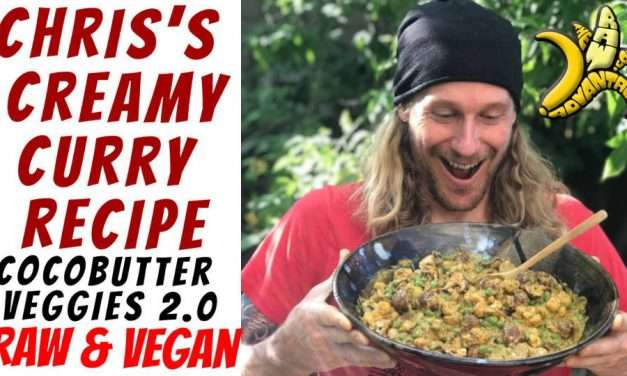 Chris's Creamy Curry aka Cocobutter Veggies 2.0 – The Best Raw Vegan Curry!