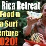 Raw Food and Yoga Surf Adventure Retreat Costa Rica 2020