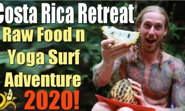 Raw Food and Yoga Surf Adventure Retreat Costa Rica 2020