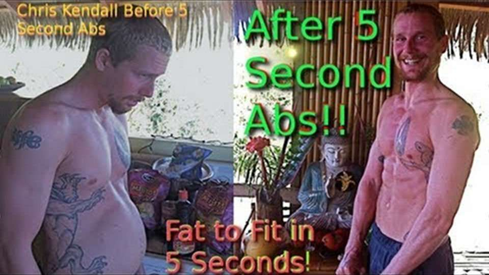 """5 Second Abs"" or ""Fat to Fit in 5 Seconds"" You Decide!"
