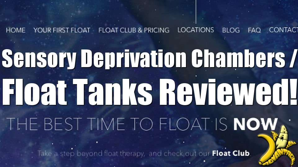 First Time Trying a Sensory Deprivation Tank at Float YXE