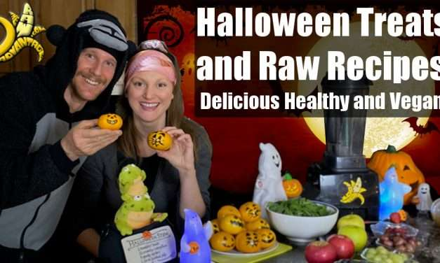 Halloween Treats and Raw Recipes, Delicious Healthy and Vegan