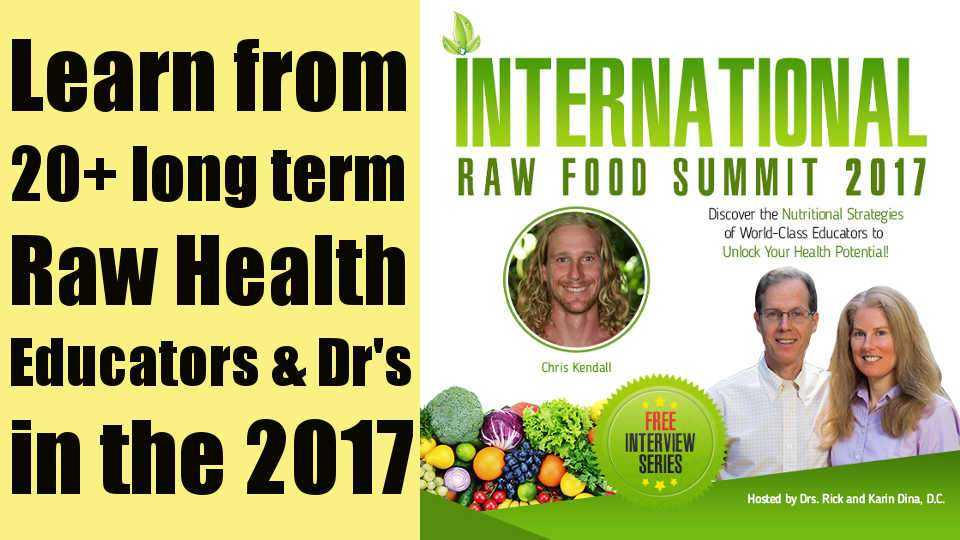 International Raw Food Summit 2017 – Hosted by Dr's Karin and Rick Dina