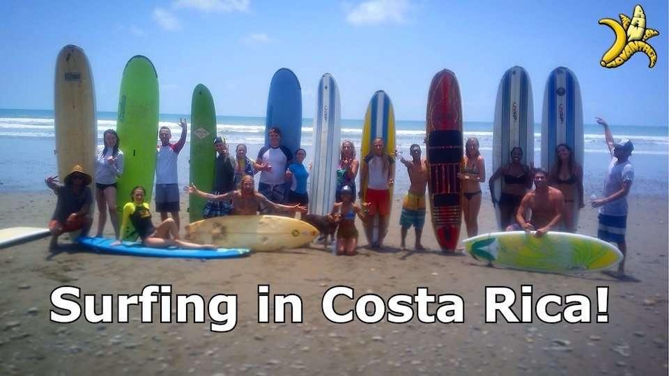 Learn to Surf in Costa Rica | Raw Food Yoga n Surf Adventure Retreat!