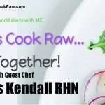Let's Cook Raw…Together! Chef Chris Kendall prepares Raw Vegan Creamy Curry!