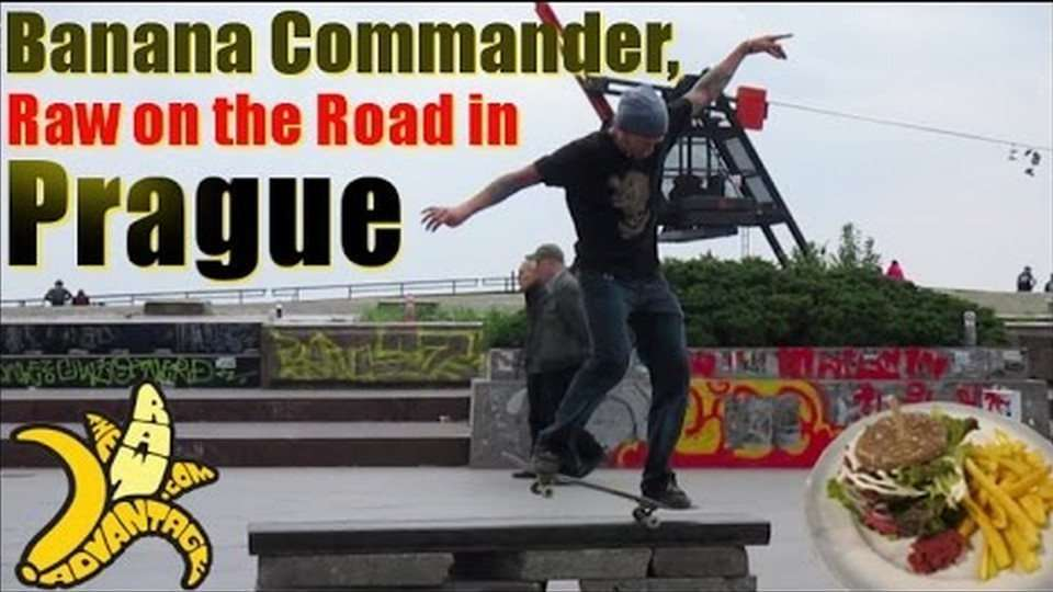 Banana Commander, Raw on the Road in Prague!