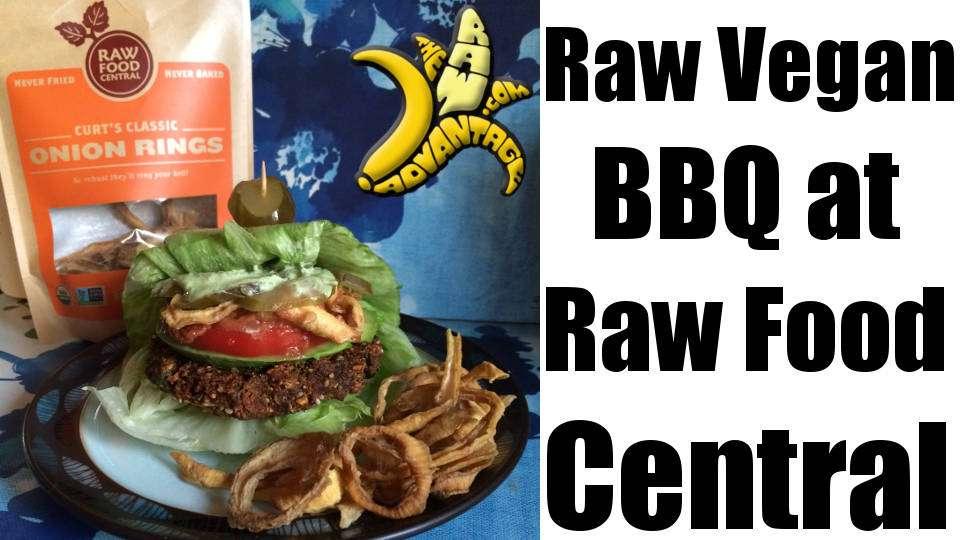 Raw Vegan BBQ at Raw Food Central