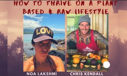"""How to Thrive on a Raw Food Lifestyle   Noa Lakshmi Interviews me for her """"True Health"""" FB page"""