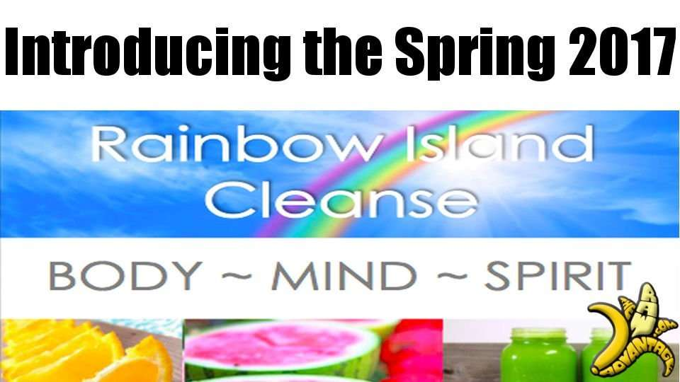Rainbow Island Group Cleanse Spring 2017!