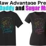 """New """"Sugar Daddy"""" and """"Sugar Mama"""" t-shirts!"""