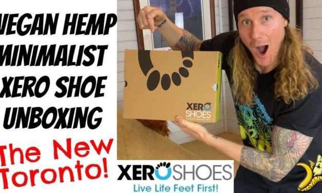 "Vegan Hemp Minimalist Shoe Unboxing The New Xero Shoes ""Toronto"""