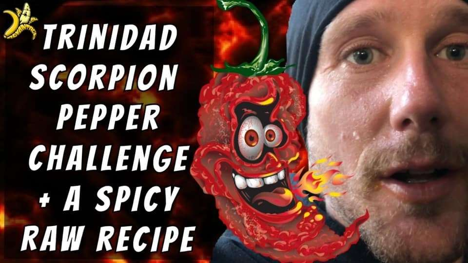 Trinidad Scorpion Pepper Challenge + Spicy Raw Recipe!