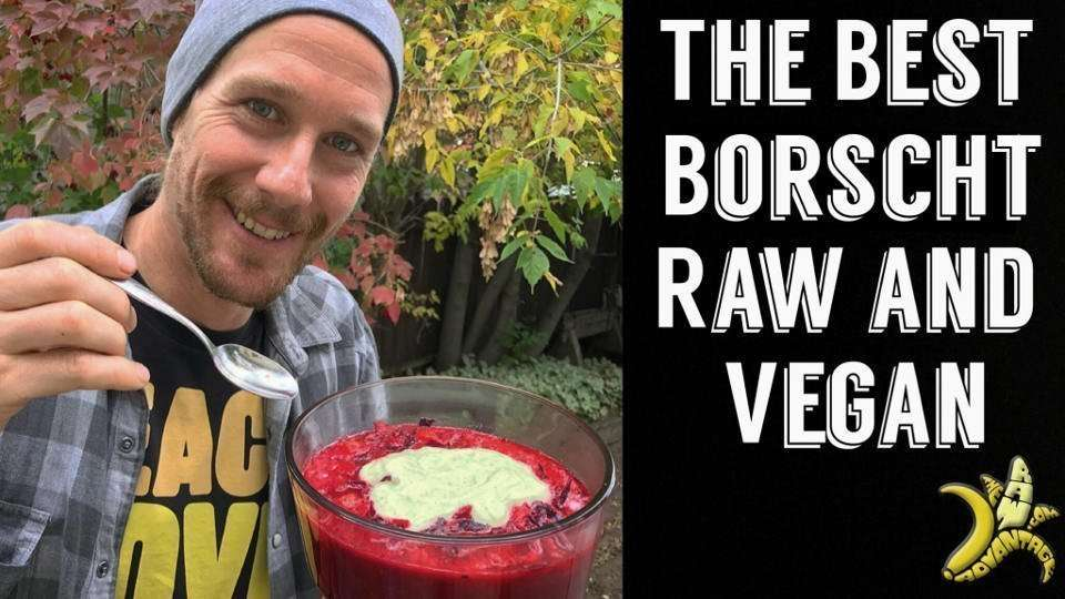 Borscht Recipe | The Best Raw Vegan Borscht