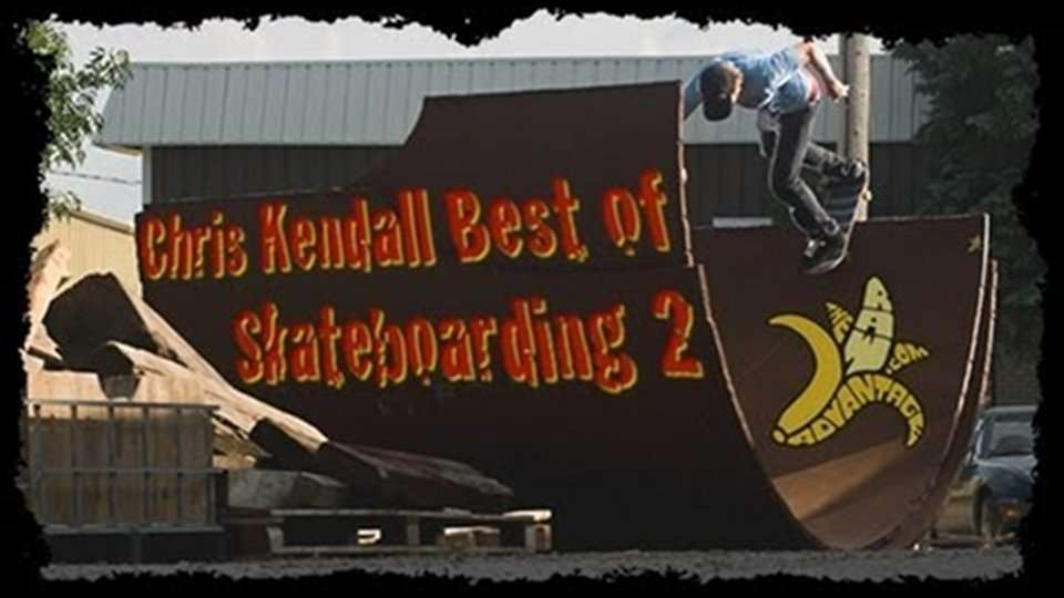 Best of Chris Kendall Skateboarding 2, RAW Footage :)