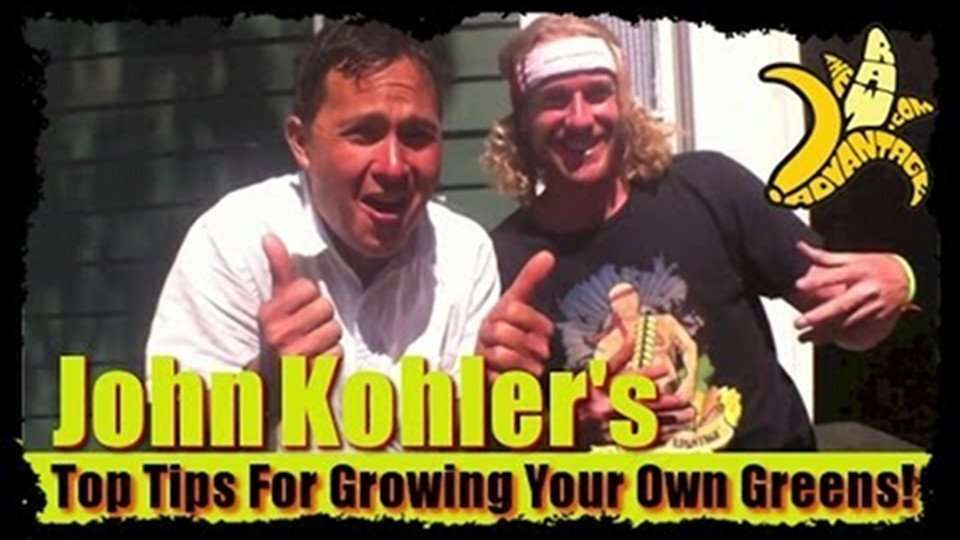 John Kohlers Top Tips For Growing your Own Greens