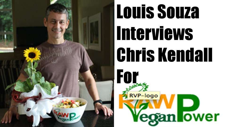 My Interview on RawVeganPower.com with Luis Souza