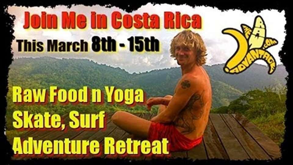 Enjoy a Getaway, TRA Costa Rica Raw Food n Yoga Adventure Retreat