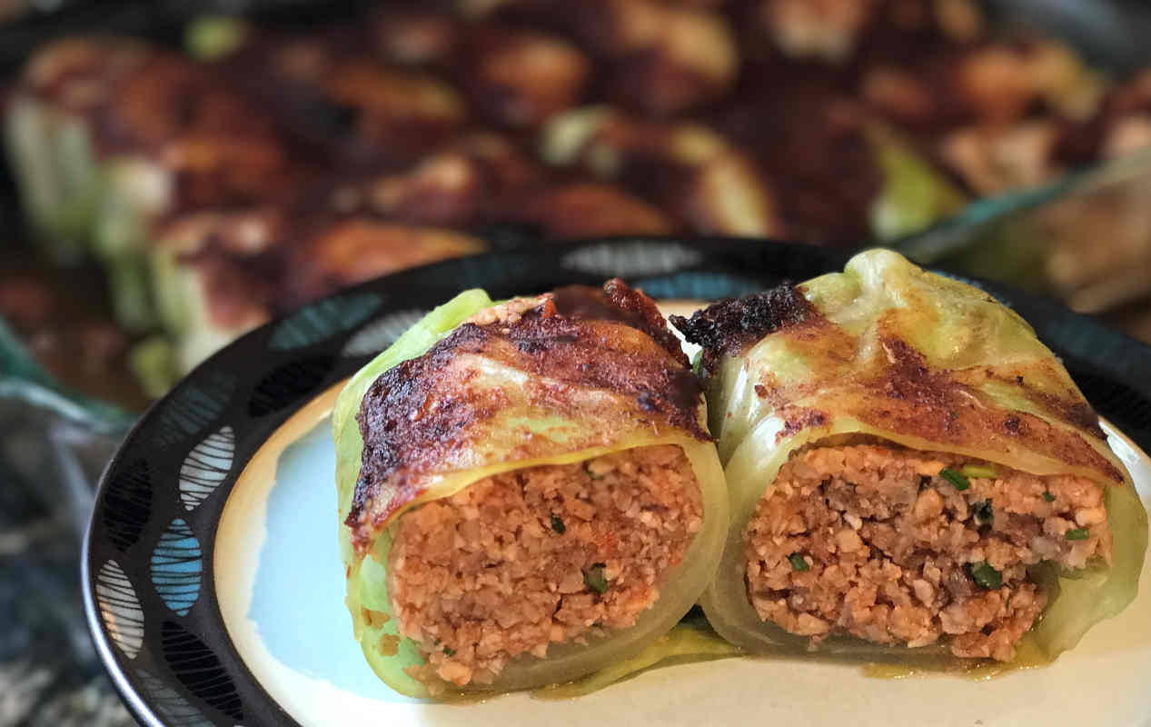 raw vegan cabbage rolls chris kendall the raw advantage