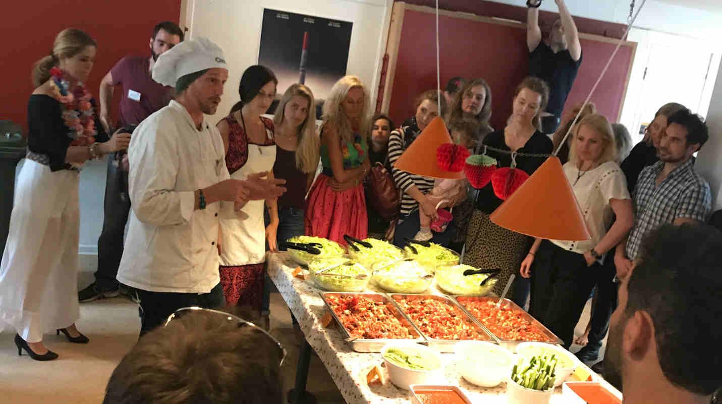 raw vegan chef festival chris kendall the raw advantage