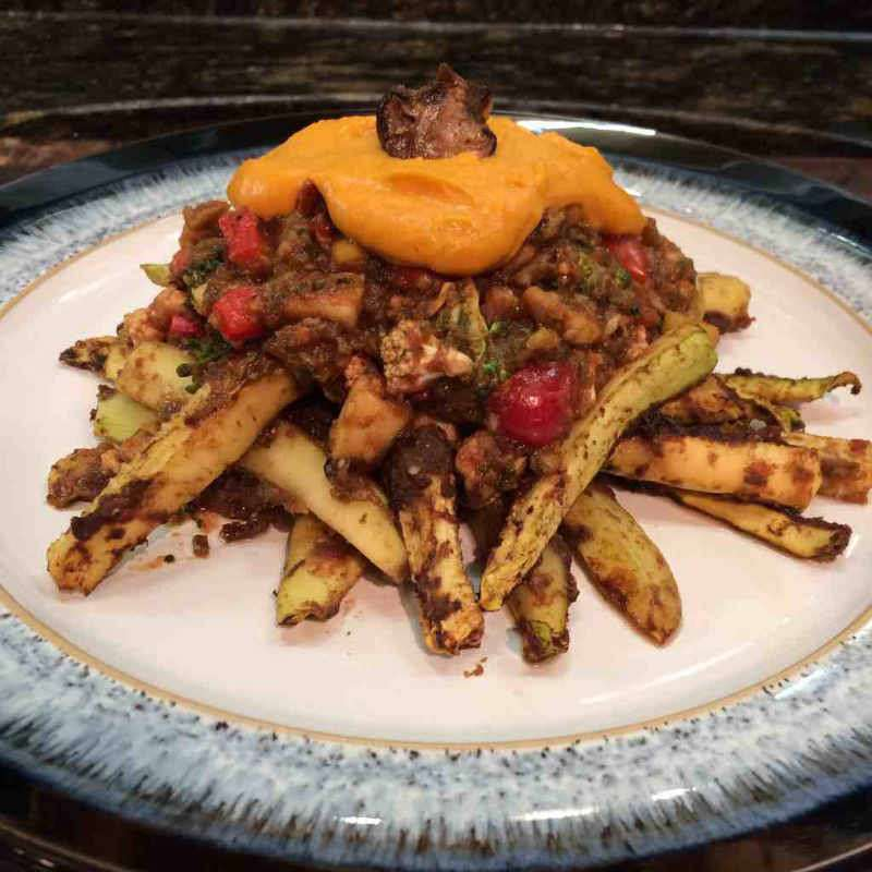 raw vegan chili cheese fries chris kendall the raw advantage