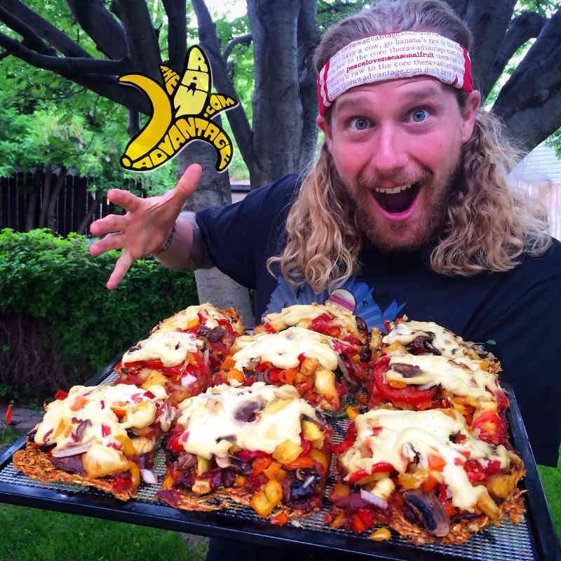 raw vegan pizza chris kendall the raw advantage