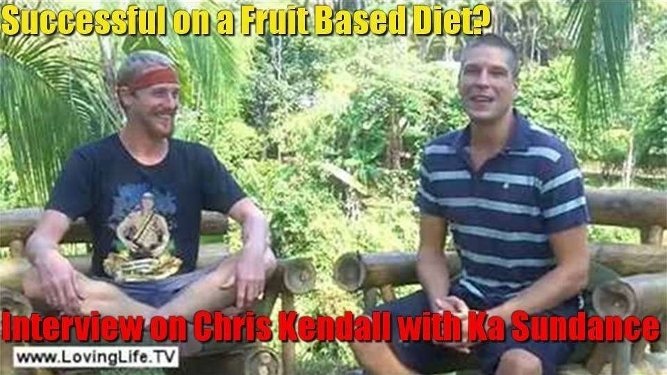 Successful On A Fruit Based Diet (80-10-10)? Interview with Chris Kendall By Ka Sundance