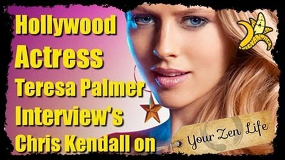 Teresa Palmer Interviews Chris Kendall on YourZenLife.com