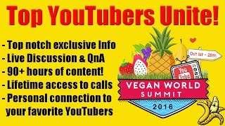 Vegan World Summit 2016!